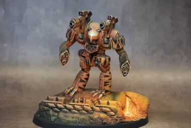 Three steps to get the painted figure you need!